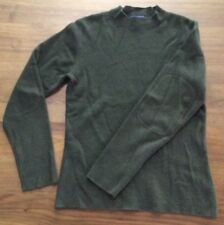 PATAGONIA 100% Cashmere Womens Sweater Size XS Loden Green