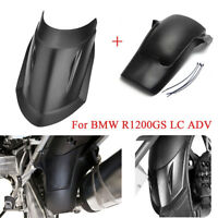 Front & Rear Fender Extender Mudguard Extension For BMW R1200GS LC ADV 2014-2016