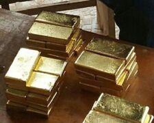 More details for genuine 1 gram 1g  bar slab solid gold  585  bullion  investment barter