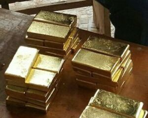 Genuine 1/2  gram half gram bar slab Solid Gold  585  bullion  investment barter