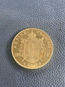 Pièce OR 100 Fr 1858