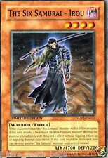 The Six Samurai - Irou GLD2-EN022 X 3 MINT LIMITED YUGIOH YU-GI-0H