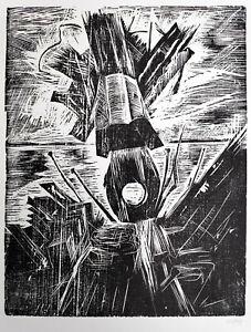 """Niemeyer-Holstein, Otto (1896 Kiel–1984 Lüttenort) """"Achtersteven eines Wracks"""""""