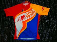 TORO BRAVO Team Bike Cycling cycle jersey FLURO NEON PRO TOUR Womens Mens Sz L