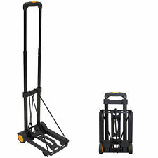 Mount-It! Folding Luggage Cart and Dolly, 77 Lb Capacity
