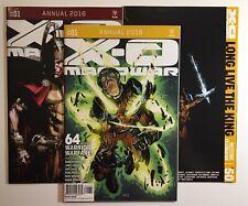 X-O Manowar Annual 1 (2) + #50 Zdarsky Cover 3 Comic Lot Valiant Not Rai Magnus