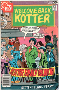 Welcome Back, Kotter DC comic book #9 Jan 1978  Fine/Very Fine