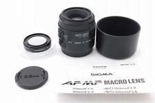 【Exc++++】SIGMA AF MACRO 90mm f/2.8 Lens for Canon w/ATTACHMENT 52mm From Japan