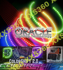 ORACLE Headlight HALO KIT RINGS Bentley Arnage 99-06 COLORSHIFT 2.0 with remote