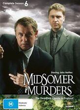Midsomer Murders Series Season 6 - New/Sealed DVD Region 4