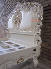 UK King size BESPOKE Designer Chatelet Bed with upholstery  French Rococo style