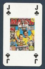 MATCH MAGAZINE-20 YEAR ANNIVERSARY COVER PLAYING CARD-ARSENAL-DOUBLE DELIGHT-JC