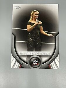 Sarah Schreiber 2020 Topps WWE Women's Division Roster Cards RC-47
