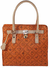 Giulia Pieralli Damen Tasche  Handtasche  Shopper  in orange  No. 28630