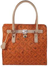 Giulia Pieralli Damen Tasche  Handtasche  Shopper orange  No. 28630 Sonderpreis