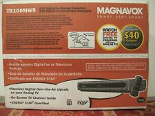 Magnavox Dtv Digital to Analog Converter Sdtv Tuner Tb110Mw9 w Remote New