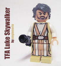 LEGO custom Star Wars Luke Skywalker Force Awakens jedi Rey old leia 75105 75139