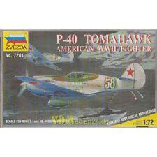 P-40 Tomahawk American WWII Fighter, Zvezda 7201, M 1:72 USAF UdSSR 2. WK