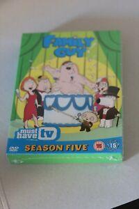 Family Guy - Season 5 New & Sealed (DVD, Region 2)