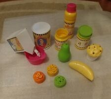 Fisher Price Little Mommy Accessories lot milk Food Jars