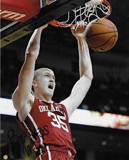 BRADY MANEK 'OKLAHOMA SOONERS' NCAA BASKETBALL SIGNED 8X10 PICTURE *COA 2