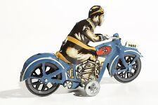 * Blechspielzeug   MOTORRAD blau °° Tin Toy  °° Jouet en Tôle