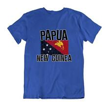 Flag T-Shirt Papua New Guinea Fashion Country Souvenir Gift Tee Pride logo