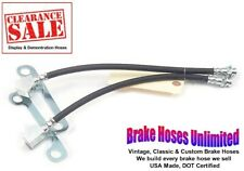 SALE - FRONT BRAKE HOSES Lincoln Continental 1965 Late, 1966 1967 1968 1969