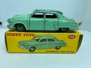 Dinky Toys 172 Studebaker Land Cruiser Boxed