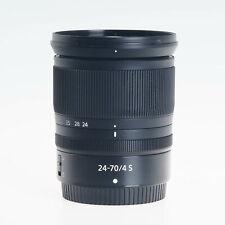 Nikon Nikkor Z 24-70mm F4 S Autofocus Standard Zoom Lens 20072