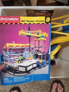 Rokenbok Wireless RC Tower Crane 04709 Set