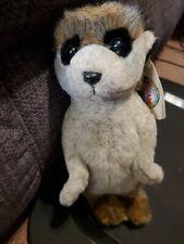 "Nwt Cascade Toy ( Meerkat ) 12"" plush stuffed animal figure"