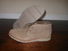 HUGO BOSS AMPLUS 50273275 Casual Chukka Shoes Boots Size 10 US 43 EUR Khaki