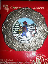Keepsake CHRISTMAS ORNAMENT 1980 Kerstmis HOLLY BERRY Drummer Boy VINTAGE New