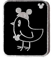 Disney Pin 64828 WDW - Hidden Mickey Pin Series III - Bird With Mouse Ears #