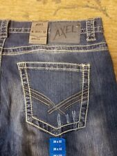 NWT Men's Axel Boot Cut Jeans Size 38x32