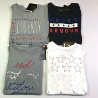 Womens Under Armour UA Freedom Loose Fit Patriotic Shirt Choose Size/Color
