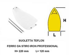 SUOLETTA IN TEFLON ANTILUCIDO PER FERRO DA STIRO IRON PROFESSIONAL  LAVANDERIA