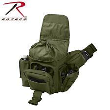 Lightweight MOLLE Advanced Tactical Travel Shoulder Bag Bug Out Pack OD Green