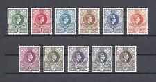 SWAZILAND 1938 SG 28/38A MNH Cat £95