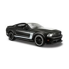 Maisto 31269 Ford Mustang Boss 302 Mate Negro - Black Series Escala 1:24 NUEVO °