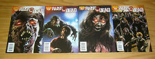 Raise the Dead #1-4 VF complete series - all sean phillips variants - zombies