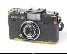 Camera Olympus Pen W Black Paint  Parts Repair
