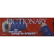 JEU de société PICTIONARY (Un mot en un coup de crayon - MB, 12+) N°1B