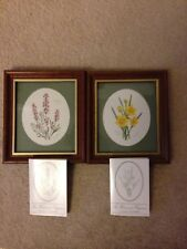 Two Small Pictures , Lavender And Daffodils