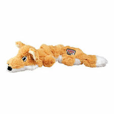 KONG Scrunch Knots Fox Dog Toy Sm/Med Realistic Pelt with internal Knots NKS31