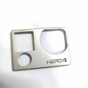 100%Original For Gopro Hero 4 Silver Front Panel Cover Camera Replacement Parts
