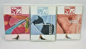 Winsor Pilates DVD 3x Body Sculpting Workout Fitness Free Postage