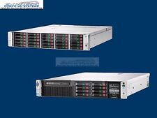 "HPE D3700 15x 500GB 7.2K 6G 2.5"" P431 DL380p G8 2x E5-2660 32GB 8x 300GB 15K"