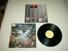 SAXON --- original 1986 ROCK THE NATIONS LP!!!